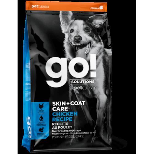 GO! Chicken 1,6kg Dog S + C