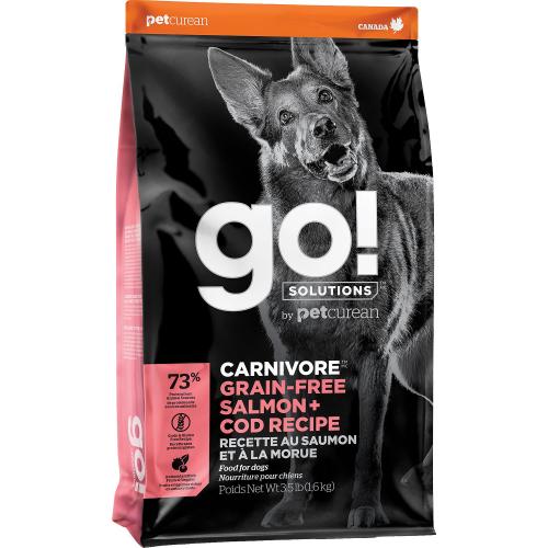 GO! Saumon+Morue 1,6kg Dog CARNIVORE GF