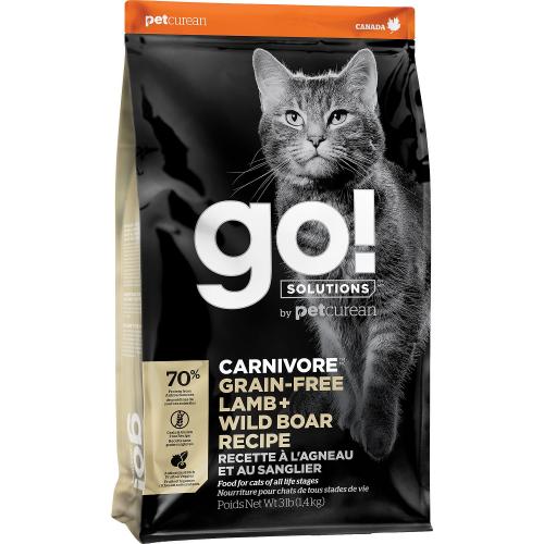 GO! Cat CARNIVORE GF Lamb + Wild Boar 1,4kg