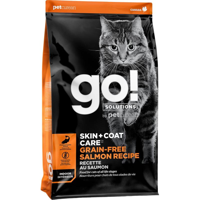 GO! Cat SKIN + COAT GF Salmon 3,7kg