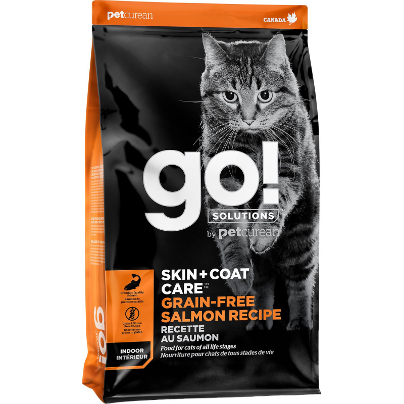 GO! Cat SKIN + COAT GF Salmon 1,4kg
