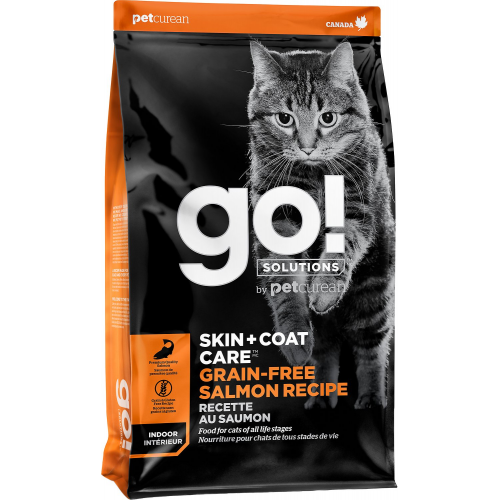 GO! Cat SKIN + COAT GF Salmon 7,3kg