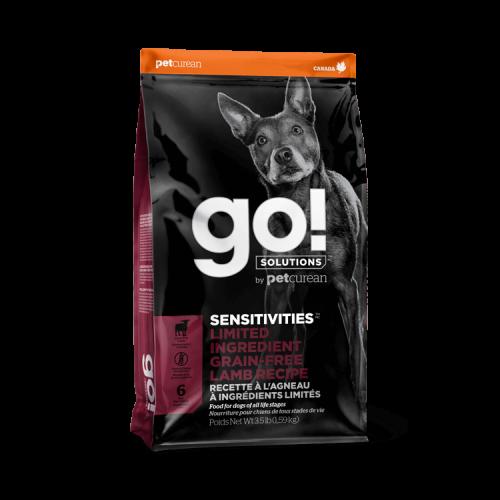 GO! Agneau Grain Free 1,6kg Dog SENSITIVITIES LID