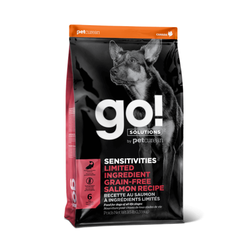 GO! Salmon Grain Free 10kg Dog SENSITIVITIES LID