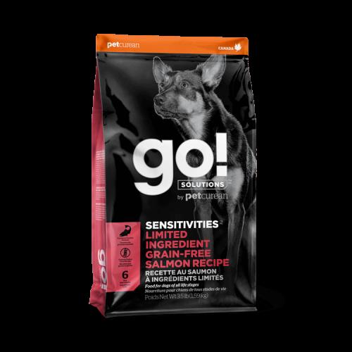 GO! Salmon Grain Free 1,6kg Dog SENSITIVITIES LID