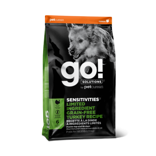 GO! Turkey Grain Free 10kg Dog SENSITIVITIES LID