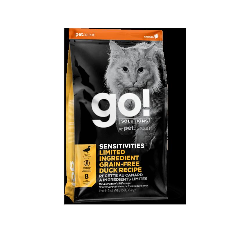 GO! Cat SENSITIVITIES LID GF Duck 1,4kg