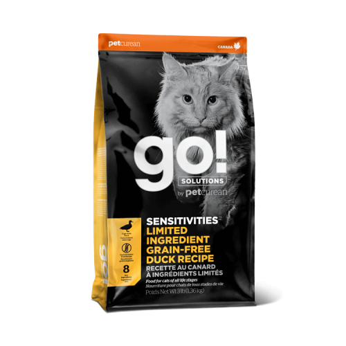 GO! Canard 7,3kg Cat SENSITIVITIES LID GF