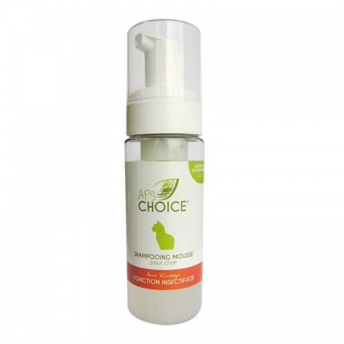 APSChoice Shamp. Mousse Insectifuge chat