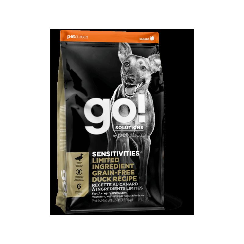 GO! Dog SENSITIVITIES LID GF Duck 10kg