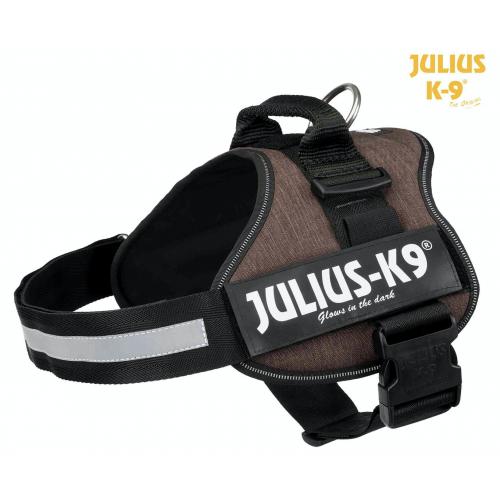 Harnais Julius-K9  58-76cm Moka