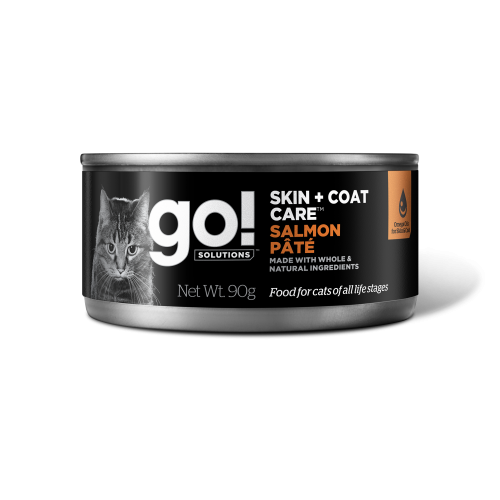 GO! 6 x 90g Cat Humide Saumon