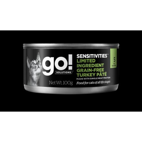 GO! 6 x 100g Turkey Cat Humide Grain Free