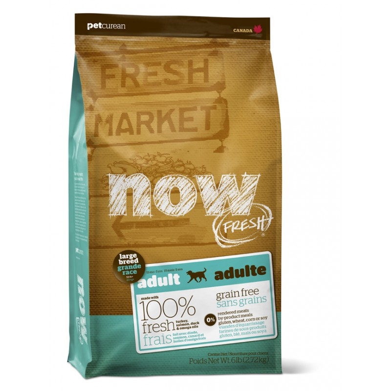 Now Fresh Dog Adult Large Breed 11,34kg Abimé