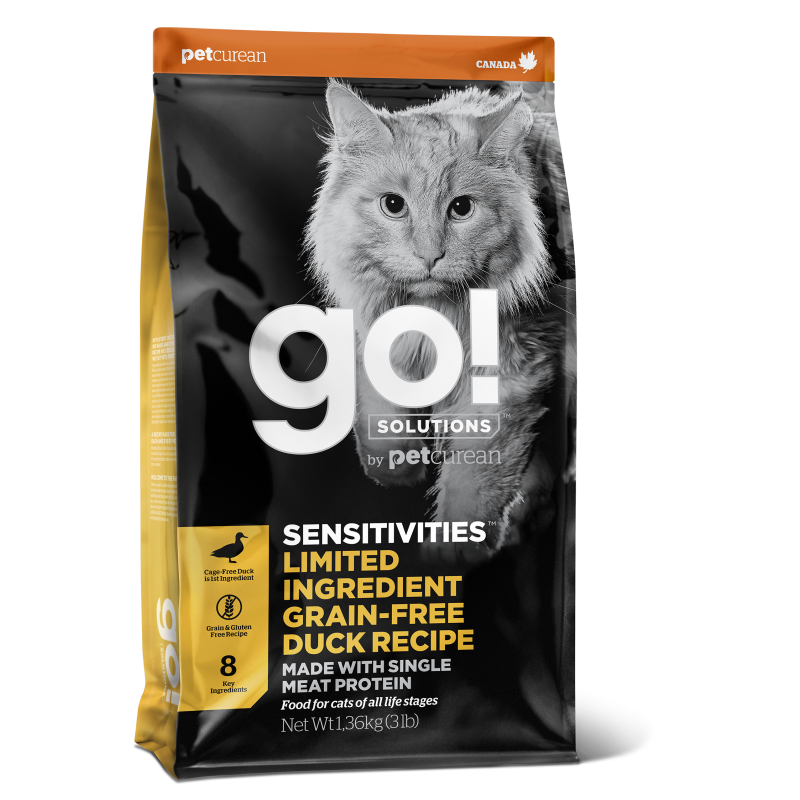 GO! Canard 3,7kg Cat SENSITIVITIES LID GF