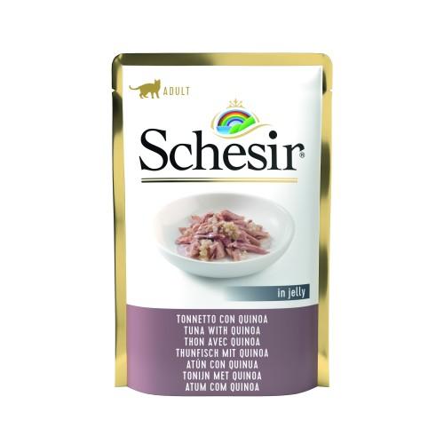 Schesir Sachet Chat Thon quinoa (Grain Free) 85 gr
