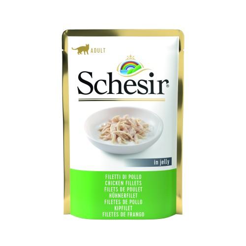 Schesir Sachet Chat Filets de poulets 85 gr