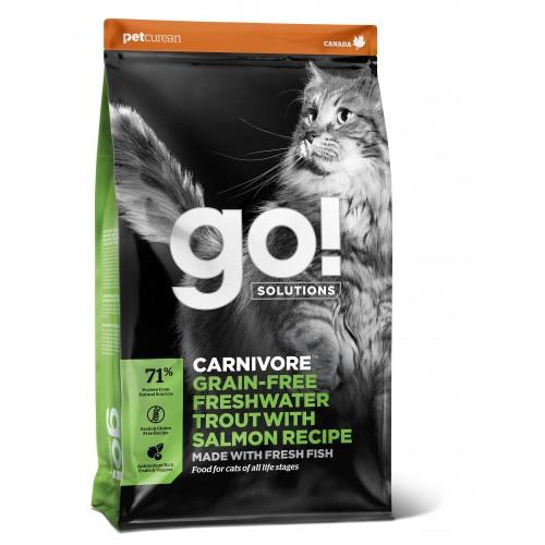 GO! Cat Carnivore Truite 7,3kg Abime
