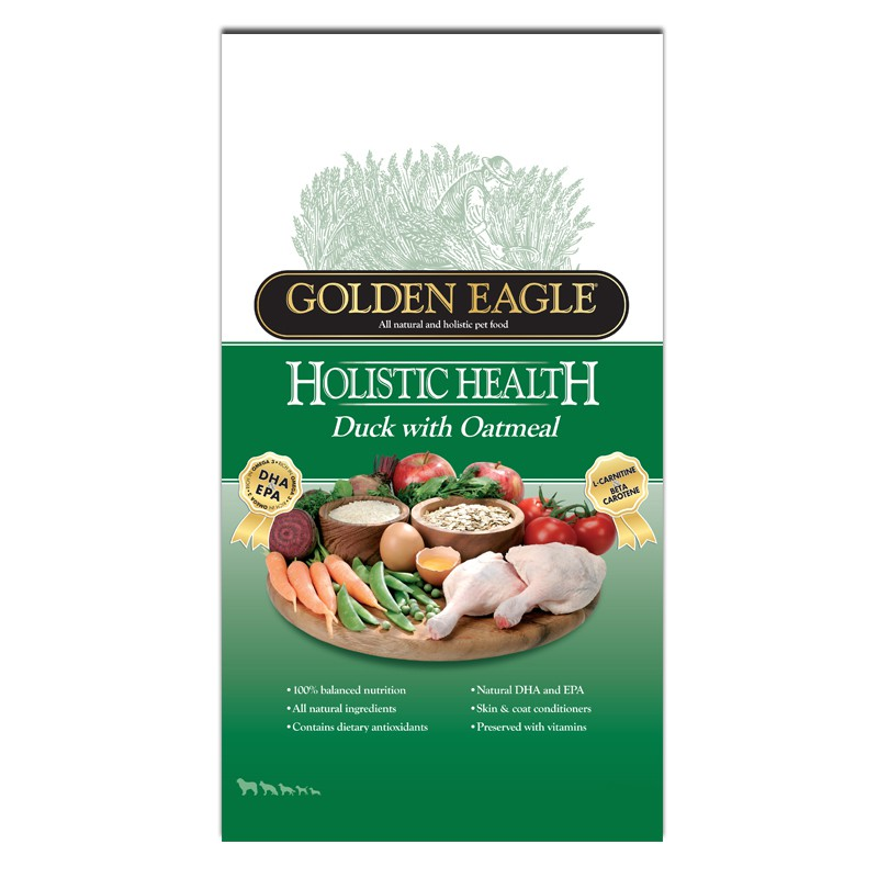 Golden Eagle Holistic Duck Seau 2kg