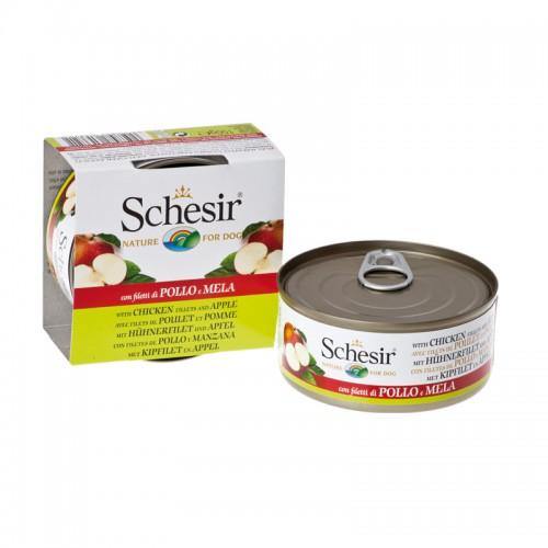 Schesir Chien Filet de Poulet et Pomme 150 gr