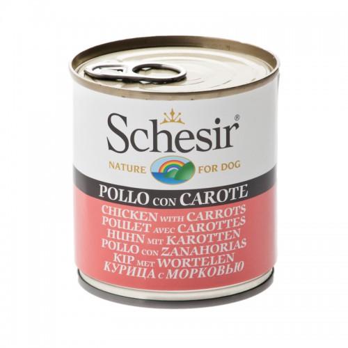 Schesir Chien Poulet avec Carottes 285 gr