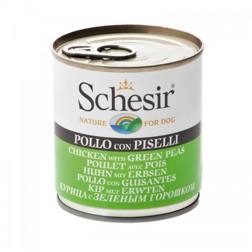 Schesir Chien Poulet avec Pois 285 gr