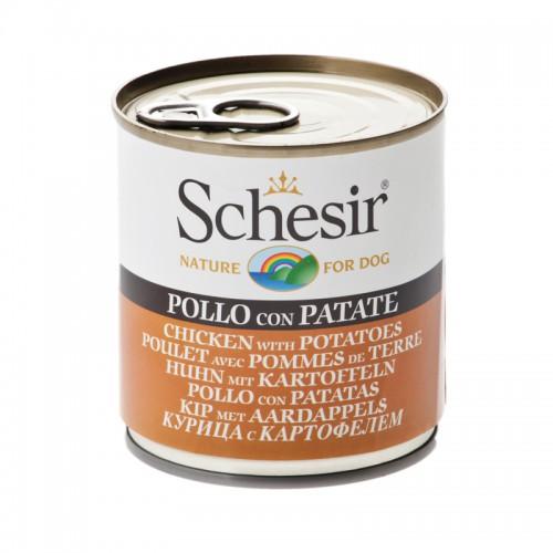 Schesir Chien Poulet Pomme de terre 285 gr