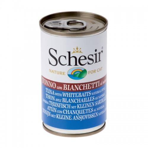 Schesir Chat Thon  avec Blanchailles 140 gr