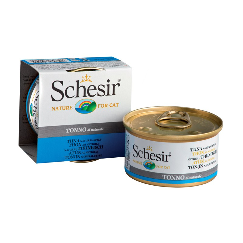 Schésir Chat Thon au Naturel 85 gr