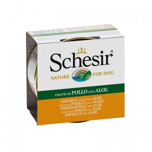 Schesir Chien Filets de Poulet & Aloes 150 gr