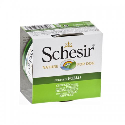 Schésir Chien Filets de Poulet 150 gr