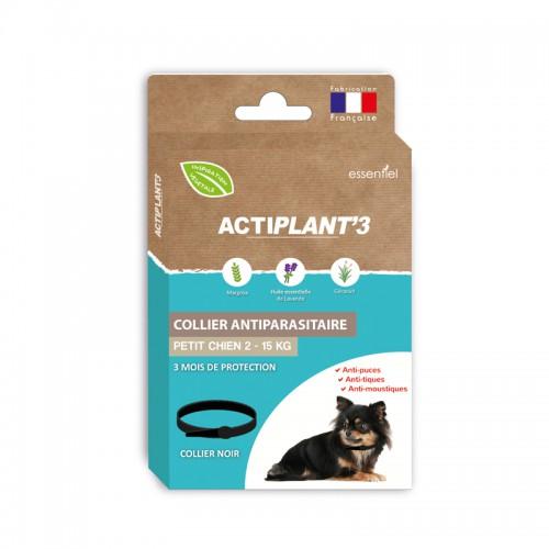 Collier Antiparasitaire ActiPlant'3 - petit chien