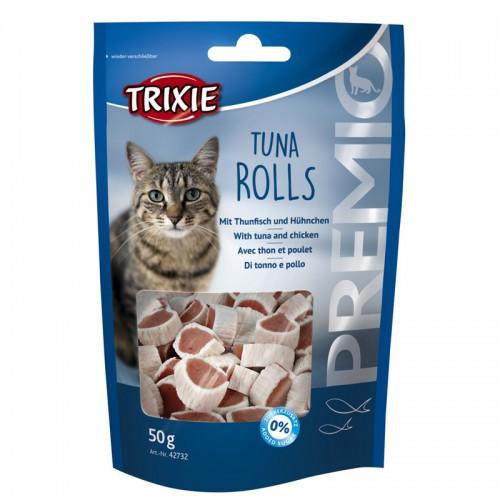 Premio Tuna Rolls pour chat 50g