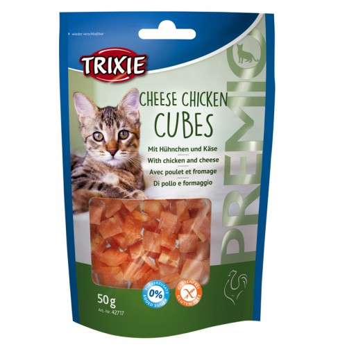 Premio Cheese Chicken pour chat 50g