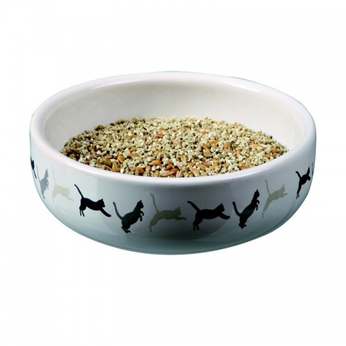 Bol Ceramique avec Herbe a chat