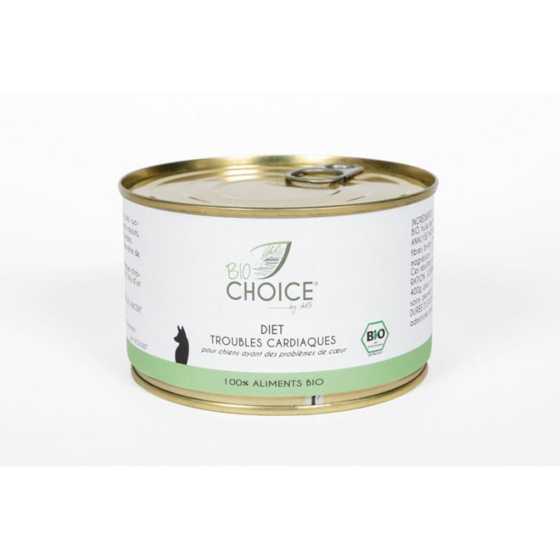 BioChoice Chien  Diet Trouble Cardiaque boite 400g