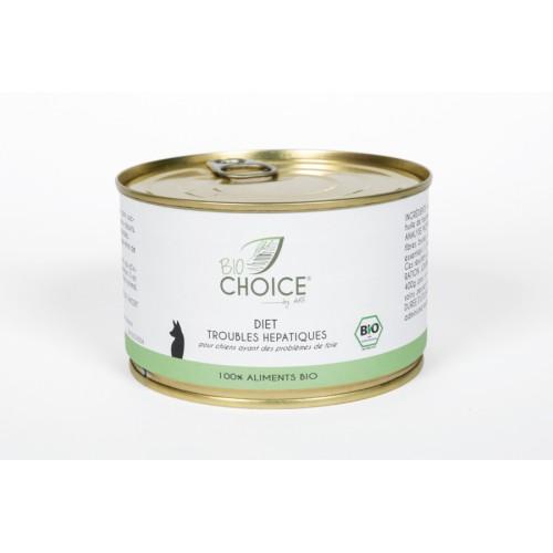 BioChoice Chien  Diet Trouble Hepatique boite 400g