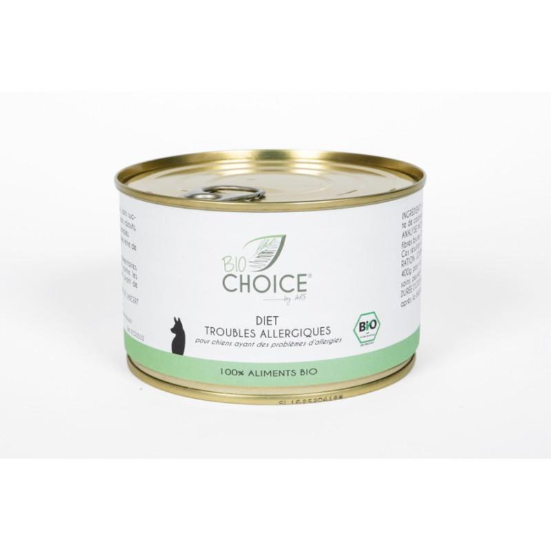 BioChoice Chien  Diet Trouble Allergique boite 400g