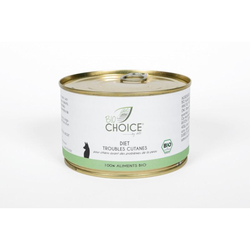 BioChoice Chien  Diet Trouble Cutané boite 400g