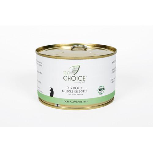 BioChoice Chien  Pur Boeuf boite 400g