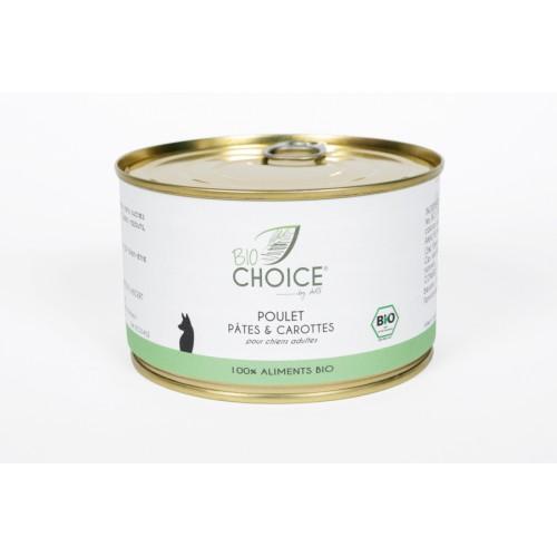 BioChoice Chien  Poulet Pates & Carottes boite 400g