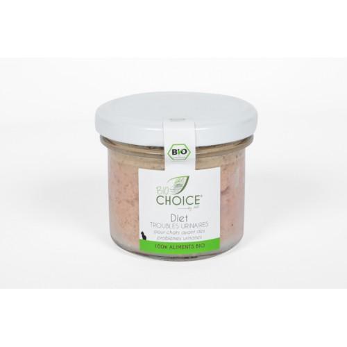 BioChoice Chat  Diet Trouble Urinaire bocal 100g