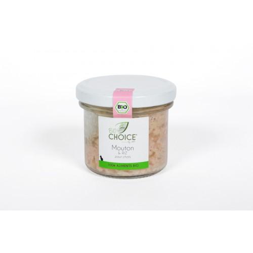BioChoice Chat  Mouton & Riz bocal 100g