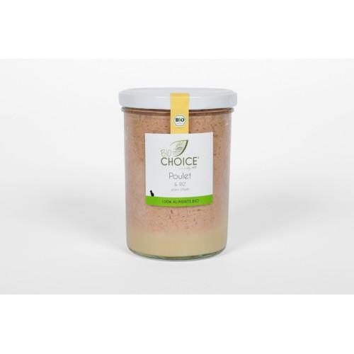 BioChoice Chat  Poulet & Riz bocal 400g