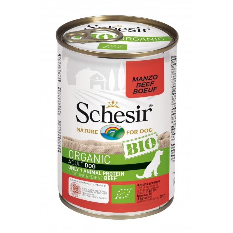 Schesir Chien Bio Boeuf 400 gr