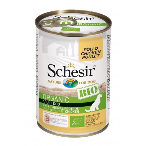Schesir Chien Bio Poulet 400 gr