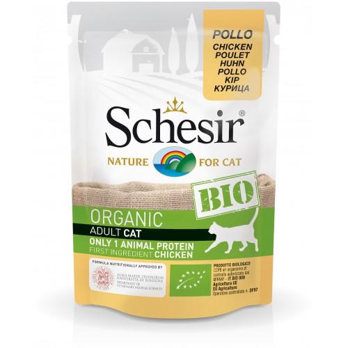 Schesir Chat Bio Poulet 85 gr