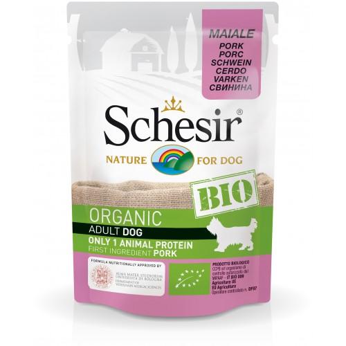 Schesir Chien Bio Porc 85 gr
