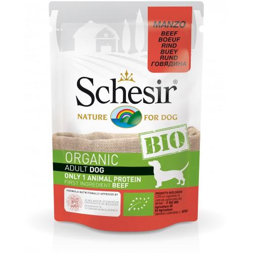 Schesir Chien Bio Boeuf 85 gr