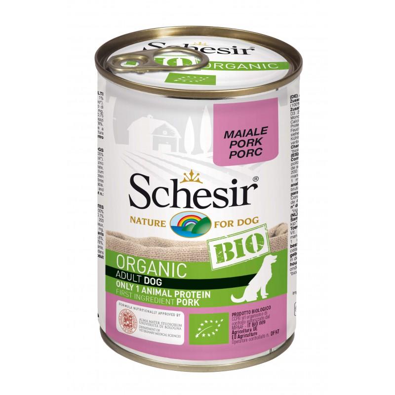 Schesir Chien Bio Porc 400 gr